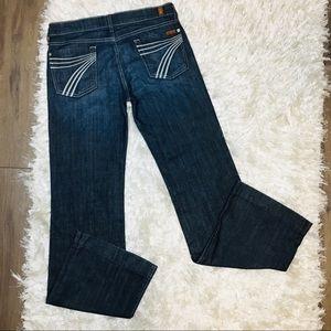 Seven For All Mankind Dojo Jeans Sz 30